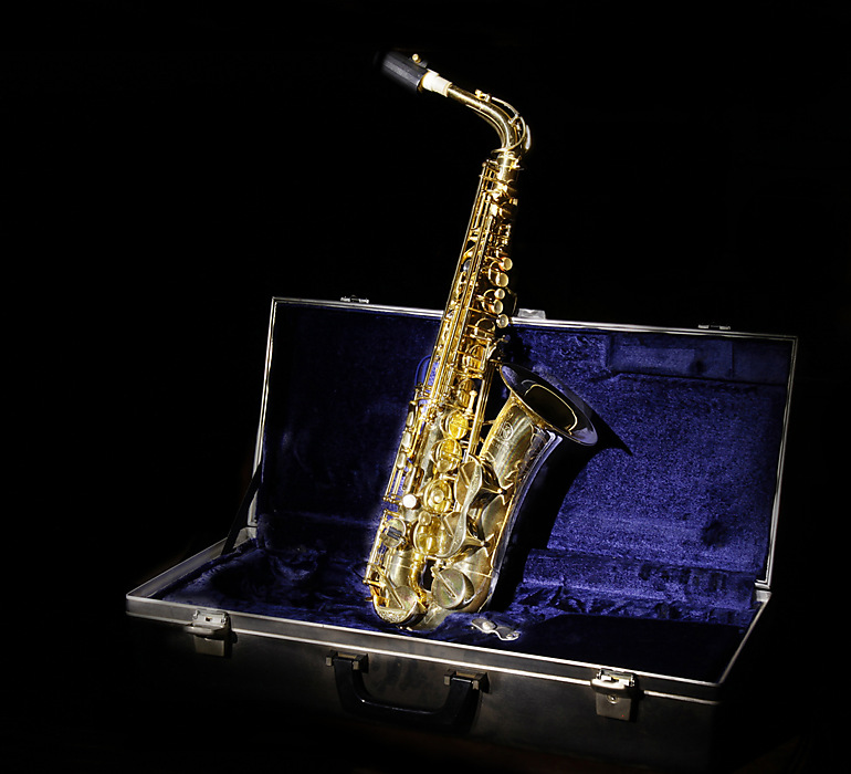photoblog image Blues with a sax