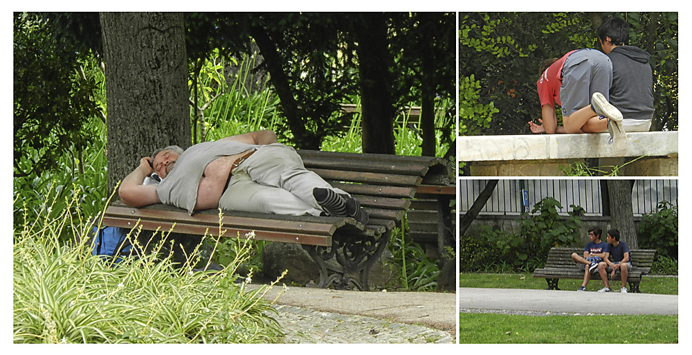 photoblog image People in the Estrela park 3